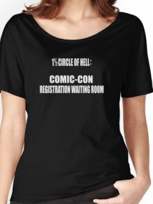 1 1/2 Circle Of Comic-Con Hell Women's Relaxed Fit T-Shirt