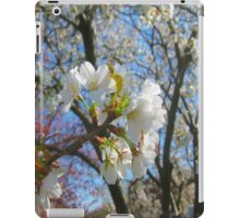 White Cherry Blossoms iPad Case/Skin