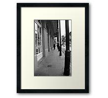 New Orleans Sidewalk Framed Print