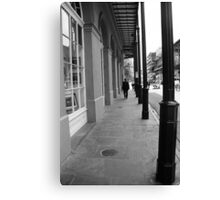New Orleans Sidewalk Canvas Print
