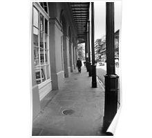 New Orleans Sidewalk Poster