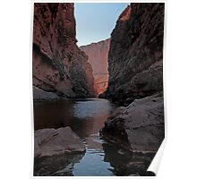 Santa Elena Canyon View Poster
