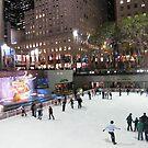 Rockefeller Center Skating Rink by lenspiro