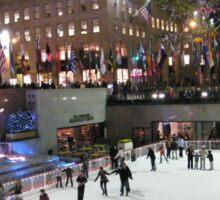 Rockefeller Center Skating Rink Sticker
