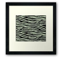 0342 Laurel Green Tiger Framed Print