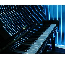 Mood Indigo - Piano Reflections Photographic Print