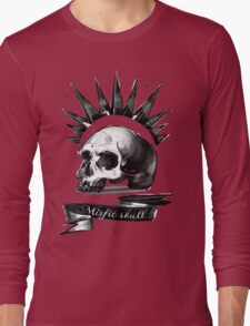 Life is strange Chloe misfit skull Long Sleeve T-Shirt