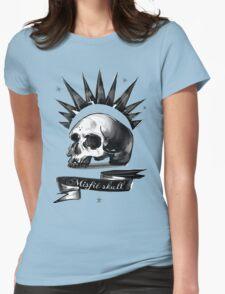 Life is strange Chloe misfit skull Womens Fitted T-Shirt