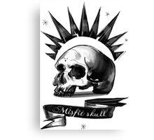Life is strange Chloe misfit skull Canvas Print