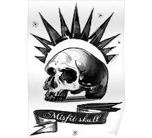 Life is strange Chloe misfit skull Poster