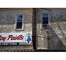 Flemington, NJ - Paint Shop Photographic Print