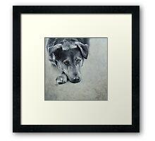 Luna Portrait Framed Print