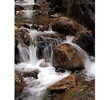 Flume River Gorge Closeup Photographic Print
