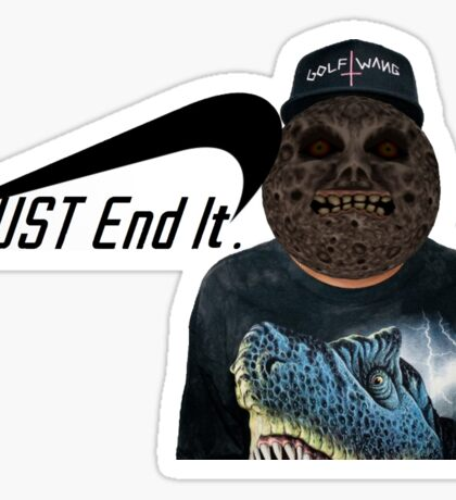 Majora The Creator- Just End It Sticker