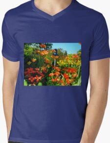 Summer laughter Mens V-Neck T-Shirt