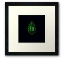 Haunted Mansion Plaque Framed Print
