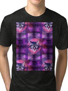 illuminati kitten Tri-blend T-Shirt