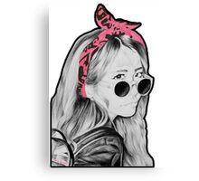 Boo-Hoo Bunny Canvas Print