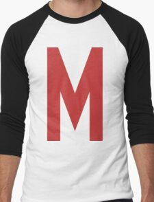 Mighty Max's T-Shirt Men's Baseball ¾ T-Shirt