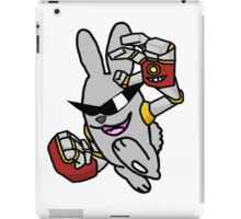 Robotic Arms on a Rowdy Rabbit! iPad Case/Skin