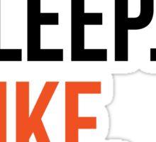 eat sleep hike repeat Sticker