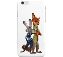 Nick and Judy Badge iPhone Case/Skin