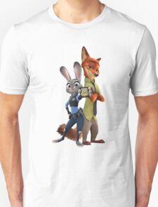 Nick and Judy Badge T-Shirt