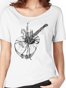 Acoustic Guitar Tree Women's Relaxed Fit T-Shirt