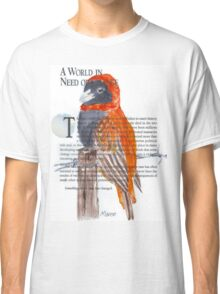 Red Bishop in Soft-cover book Classic T-Shirt