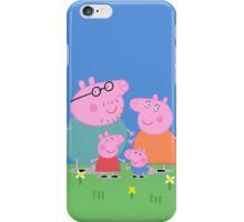 Peppa Family iPhone Case/Skin