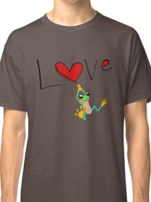 Red-Eyed Tree Frog Love Classic T-Shirt