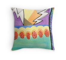 Grounded Lightning Throw Pillow