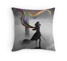 No One Fights For Me Throw Pillow