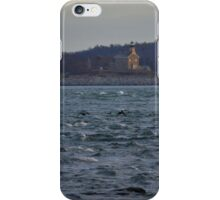 View On Plum Island Lighthouse   Orient Point, New York iPhone Case/Skin
