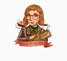 Log Lady, her log has something to tell you Unisex T-Shirt