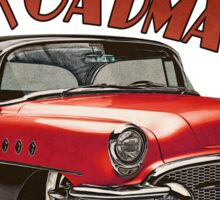 1955 Buick Roadmaster - Red 3 Sticker