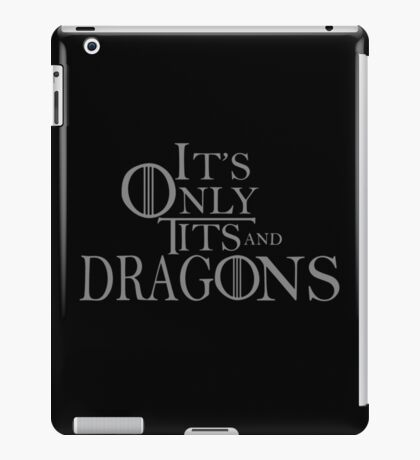 Game Of...Thrones??? iPad Case/Skin