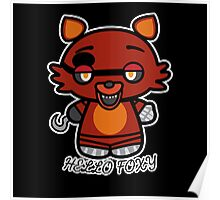 Hello Foxy Poster