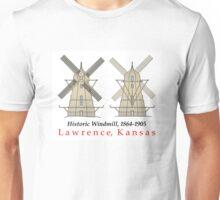 Lawrence, Kansas windmill Unisex T-Shirt
