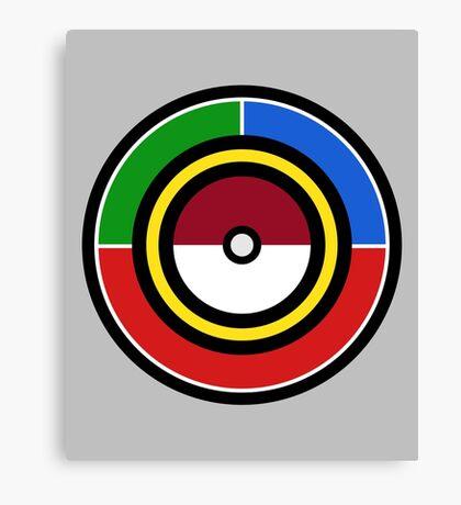 Pokemon Starters Canvas Print