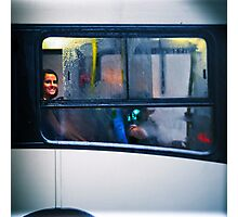 bus window Photographic Print
