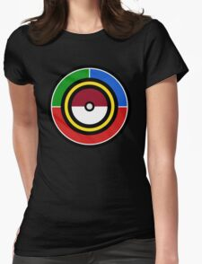 Pokemon Starters Womens Fitted T-Shirt