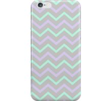 Zig Zag Grey Purple Mint Phone Case iPhone Case/Skin