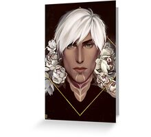 Dragon Age: Fenris Greeting Card