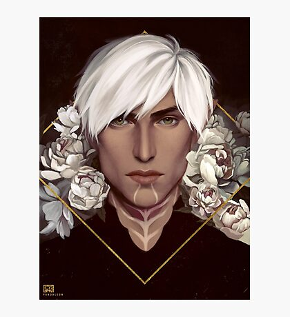 Dragon Age: Fenris Photographic Print