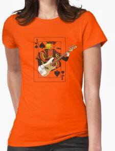 Jack Bass P Womens Fitted T-Shirt