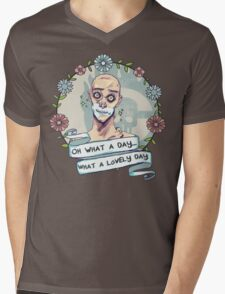 Warboy Mens V-Neck T-Shirt