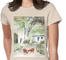 Solly's chickens Womens Fitted T-Shirt