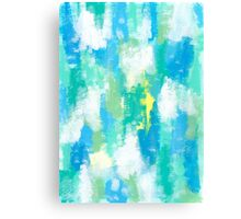 CALM GREEN Canvas Print