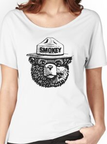Smokey The Bear Women's Relaxed Fit T-Shirt
